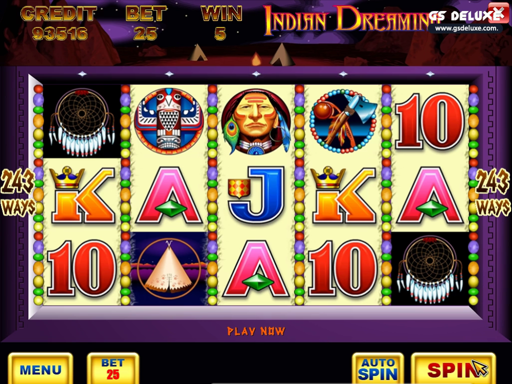Indian Dreaming Slot online