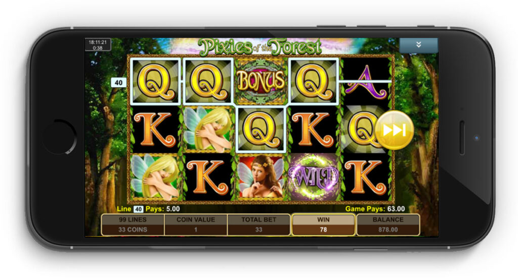 Pixies Of The Forest slot mobile